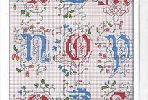 Igłą malowana kaligrafia