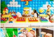 Boy party - toys story