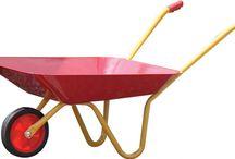 Wheelbarrows, Trolleys & Trucks