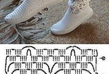 calcetin crochet