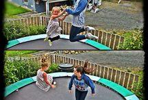 Instagram & Trampoline / Un partage de photos originales via Instagram. Le trampoline a fier allure !