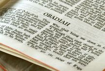 Obadiah: When Saviours Shall Come to Mount Zion / The shortest book in the Tanakh (Hebrew Bible) was written by the prophet Obadiah (עֹֽבַדְיָ֑ה), whose name means Servant of the Lord.  With only 291 Hebrew words, it has three major themes:  the abuse and restoration of Israel and the Divine judgment of Edom.