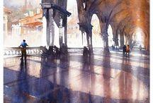 Watercolors / acquerelli