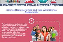 science homework help onlne