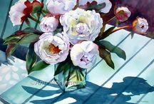 PAINTINGS & FLOWERS & FRUITS / Still Life Paintings
