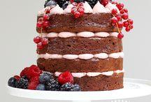 """Naked Cake / Idéias para """"bolo pelado"""" - Naked Cake"""