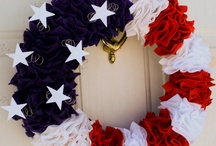 Americana Holidays & Crafts (4th of July/Memorial Day/Veteran's Day/Armed Forces Day) / by Angie Schott