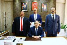 AK Parti Milletvekili Adayları ile Tekkeköy İlçe Başkanlığı Ziyareti