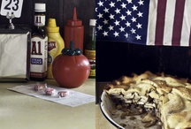 Americana / Diners, dives, retro motels and some red,white and blue...