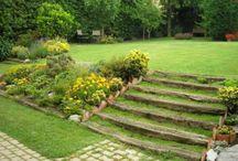 Escalones de jardín