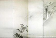 Japanese art painting 8 / Japanese painting by Vyacheslav Sinkevich