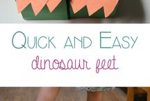Dinosaurs for the crazy girl!
