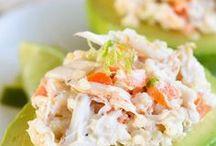 Para rellena de ensalada con Quinoa