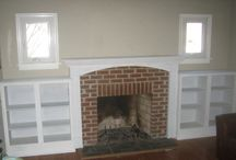 fireplace / by Toni Goodall