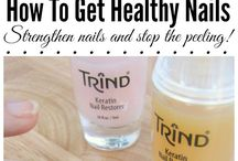 Before And After / These photos show how Trind products can make dramatic differences in the health of your nails!