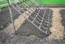 Garten Ideen für Tomaten Gurken usw