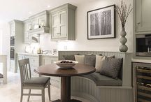 Luxury Kitchens - Tom Howley Family Diner / Be inspired - style and luxury for the family home  | Tom Howley Family Diner Shaker Kitchen