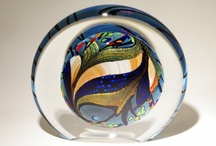 Paperweights, Marbles and Spheres / and beads.  / by Patty Flagler