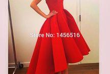 Vestidos De Baile Rojos