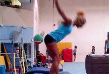 Arias on the beam!!!