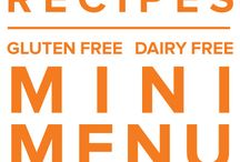 Gluten Free Dairy Free Mini Menu May 2015 / by Once A Month Meals
