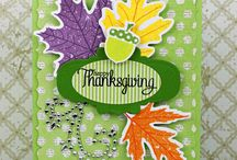 cards - thanksgiving / by Kathy Katsmtk