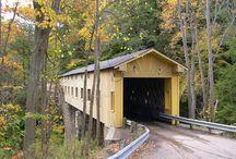 Covered Bridges - Ashtabula, Ohio / by K Kraft