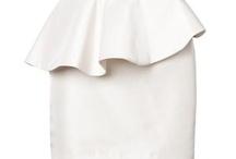 faldas, vestidos
