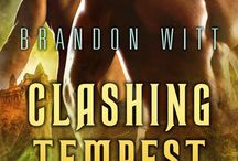 Brandon Witt, Clashing Tempest (Men of Myth #3) / Clashing Tempest - Gay Contemporary Fantasy/Paranormal, Romance