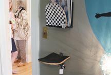 Monty skateboard room