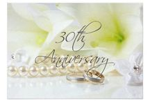 30th Pearl Wedding Anniversary St.Joseph Lily Suite / Pearl 30th Wedding Anniversary St.Joseph Lily Products ready to be personalized to your event specifics.