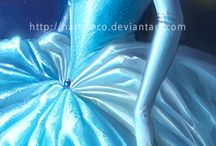 Princesa de disney anime