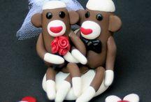 Sock Monkeys / Ideas for sock monkey themed parties galore!