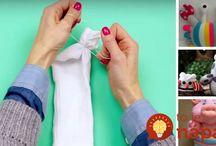 tvoření z ponožky