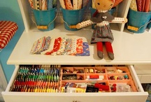 a place to create / creative ideas to make the perfect studio space / by Maureen Cracknell Handmade