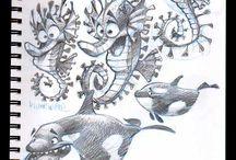 CrD - Aquatic Animals - Creature Design