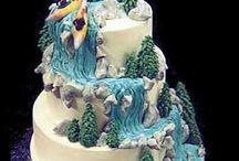 extreme sport wedding cake