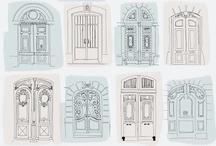 дома и двери