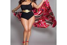 Curvy Summer Fashion / Some favorite inspirations for the curvy women who love summer.