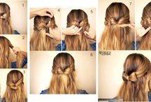 Penteados simples :3