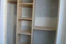 Nursery closet / by Mandy Broussard