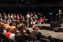 Białystok - Regionalne Forum Przedsiębiorców 2015 / Ponad 80 przedsiębiorców z Podlasia rozmawiało o stawianiu na innowacyjność, ryzyku z tym związanym, a także o gospodarczym potencjale regionu. http://www.ey.com/pl/rfp