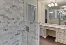 Showers / Shower ideas with different colors, patterns, layouts and designs. / by Century Tile
