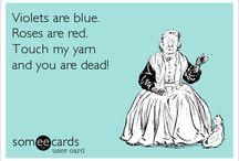 crochet humor, yarn, knit, ecc