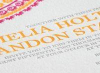 Wedding invitations - bold