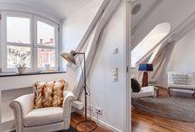 Sous les toits / loft / by laminutedeco