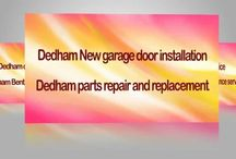 Garage Door Repair Dedham MA
