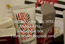 Sephora May 2016 subscription box
