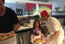 Eat In Italy Pizza Classes / Pizza Classes by Eat In Italy Food Tours, Naples. Our classes take piace at Palazzo Petrucci Pizzeria with Chef Michele Leo and Alessandro Izzo