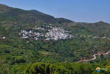 Komiaki (Koronida) / Komiaki (Koronida) mountainous village at the north part of Naxos island, Greece.